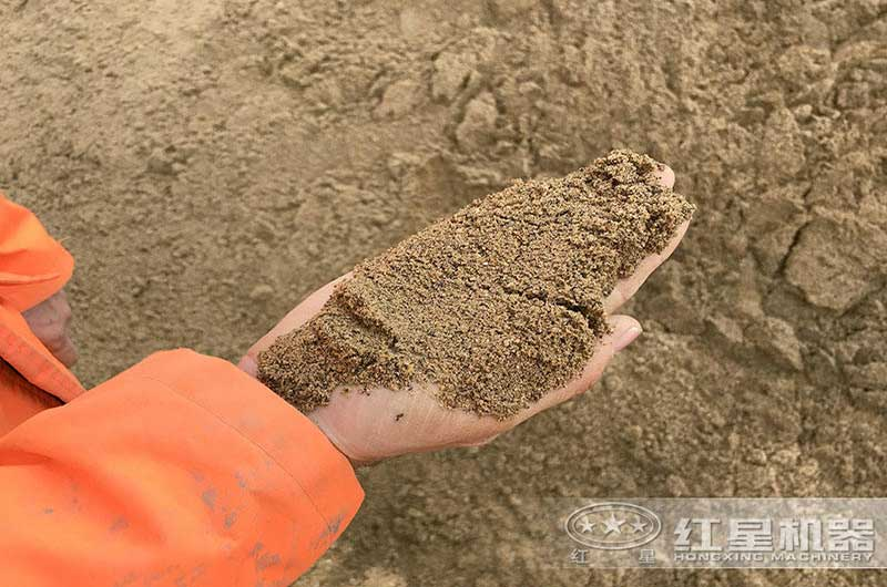 处理后的山沙